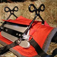 "Northwest ""Custom Fit"" Aluminum Composite Saddle & Pad"