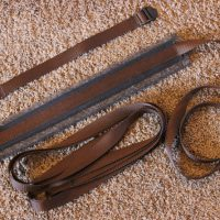 wood-saddle-strap-set